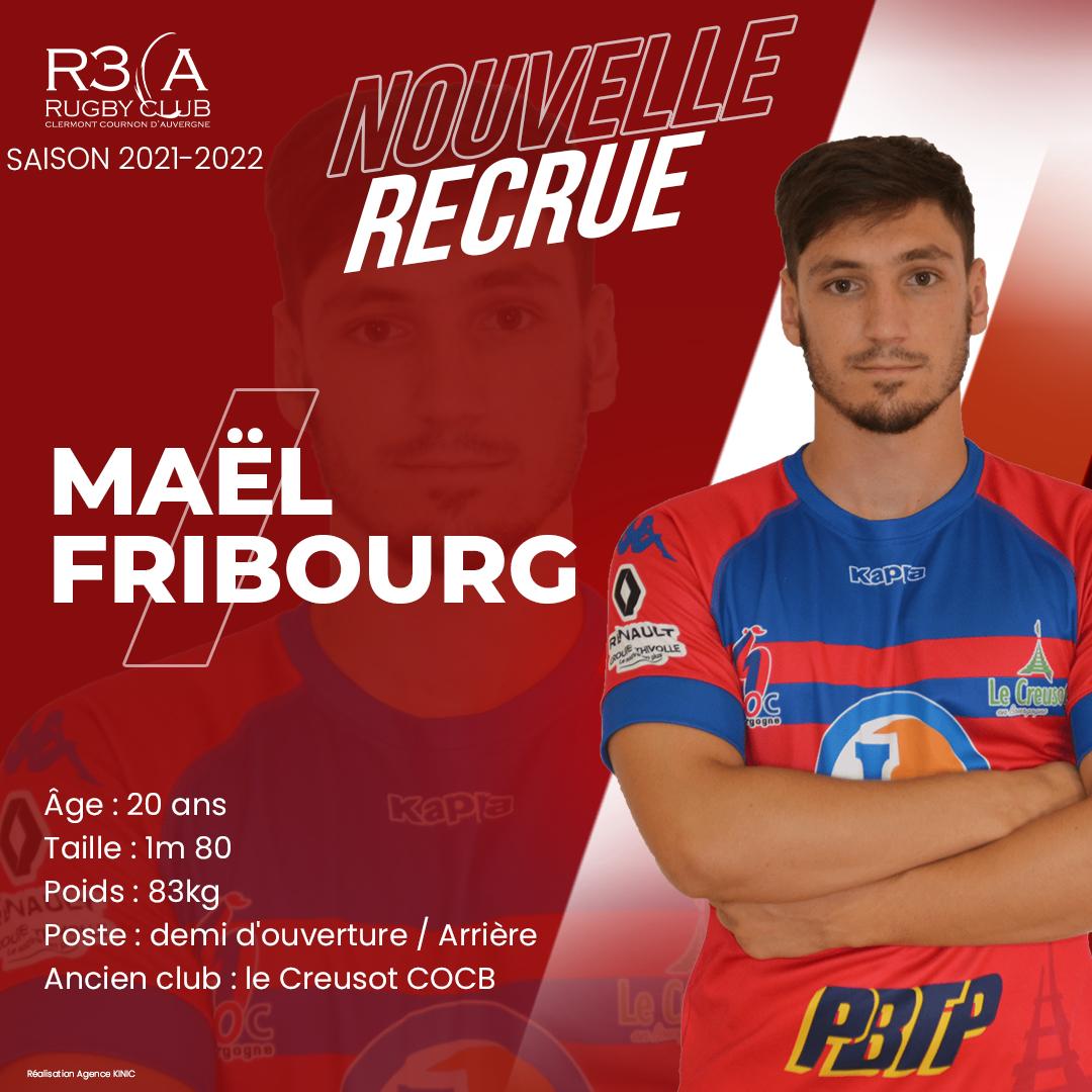 Read more about the article Bienvenue à Maël Fribourg
