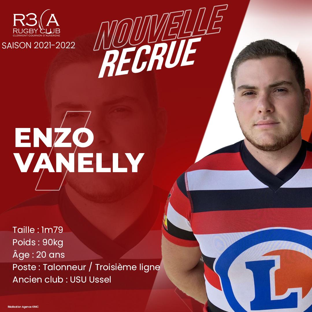 Read more about the article Bienvenue à Enzo Vanelly