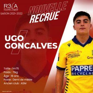 Read more about the article Bienvenue à Ugo Goncalves