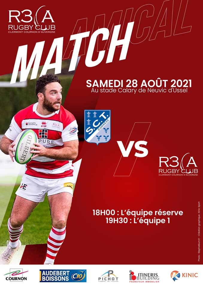 You are currently viewing Match amical : Tulle/R3CA à Neuvic d'Ussel