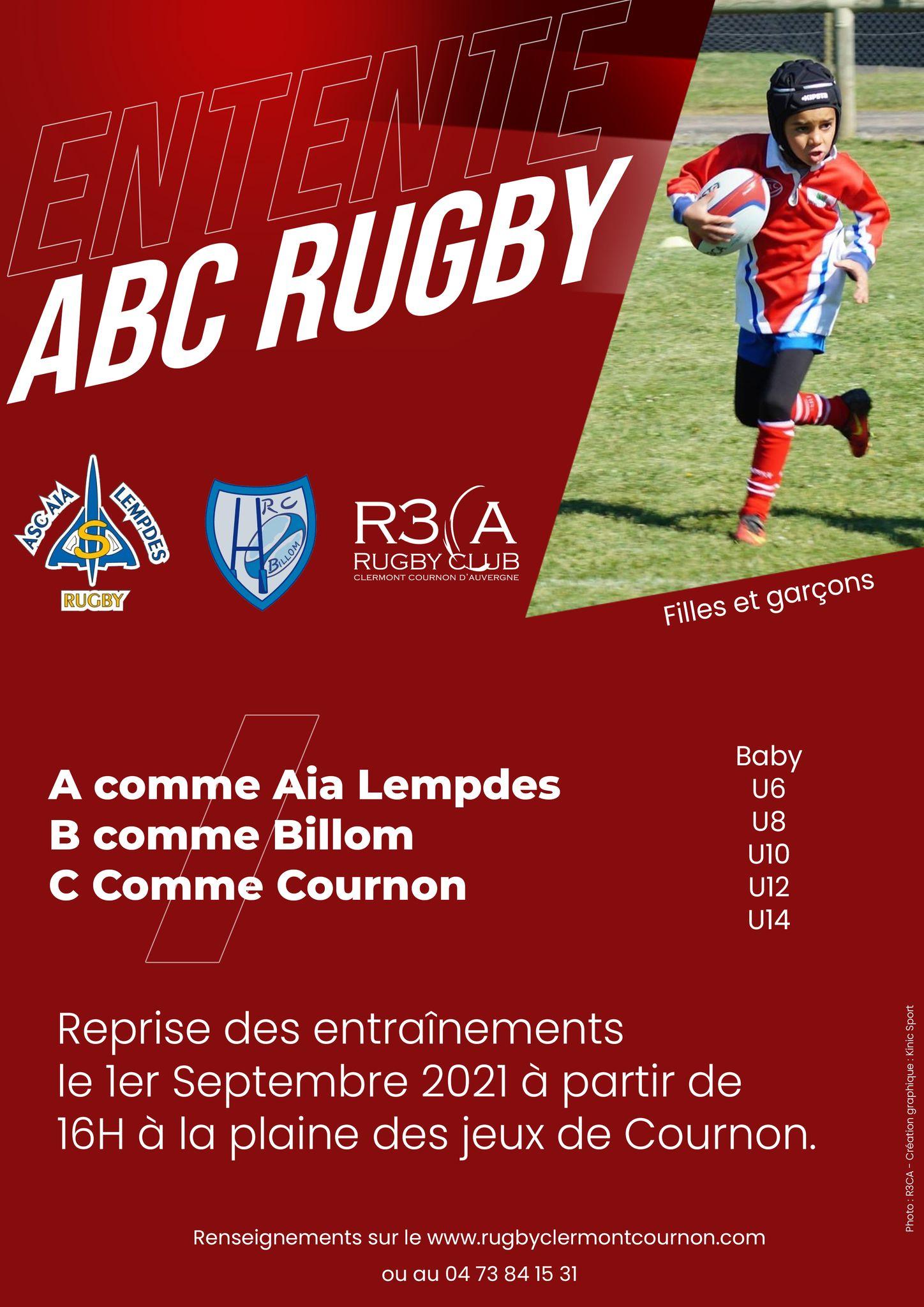 Read more about the article Ecole de rugby : Reprise des entraînements