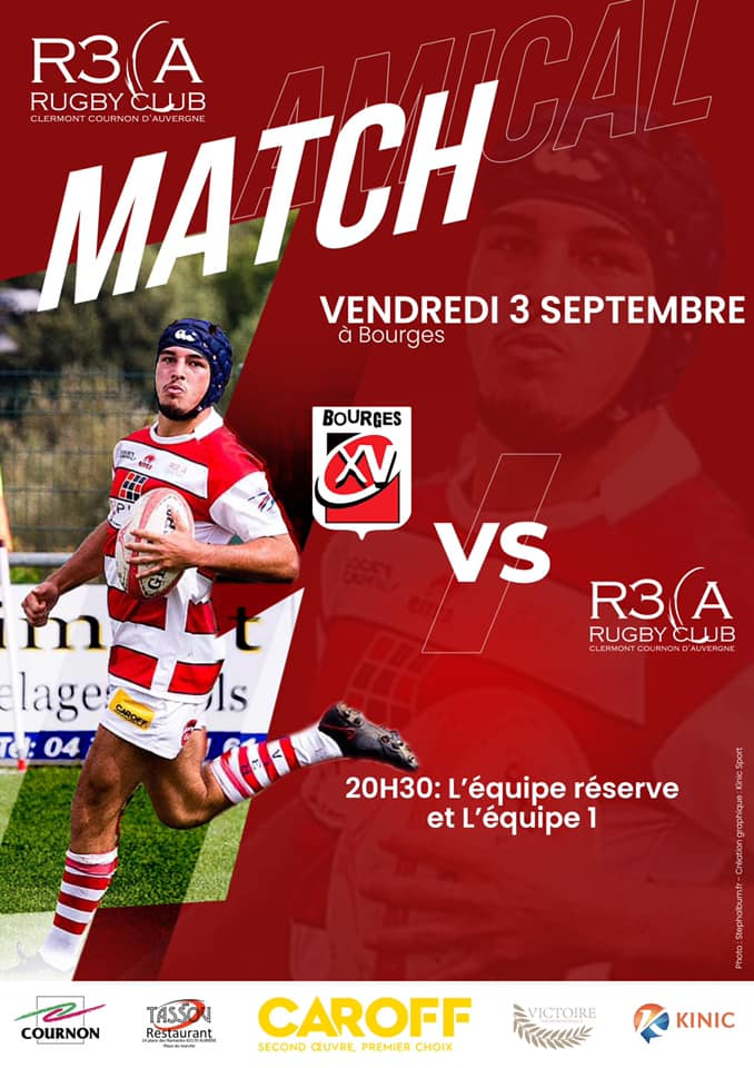 Read more about the article Match amical : Bourges/R3CA à Bourges