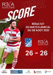 Read more about the article Match amical : R3CA 26-26 Tulle