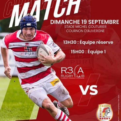 Séniors (2ème J) : R3CA/Saint-Priest Rugby